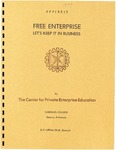 Free Enterprise: Let's Keep It In Business by Don P. Diffine Ph.D.