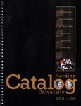 Harding University Course Catalog 2001-2002