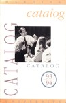 Harding University Course Catalog 1993-1994