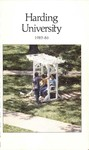 Harding University Course Catalog 1985-1986 by Harding University
