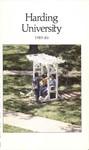 Harding University Course Catalog 1985-1986