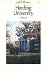 Harding University Course Catalog 1983-1984 by Harding University