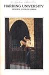 Harding University Course Catalog 1980-1981
