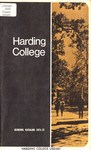 Harding College Course Catalog 1971-1972 by Harding College