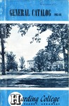 Harding College Course Catalog 1965-1966 by Harding College