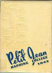 Petit Jean 1942-1943 by Harding College