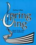 Harding College Spring Sing Program 1978