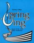 Harding College Spring Sing Program 1978