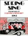 Harding University Spring Sing Program 1983