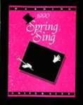 Harding University Spring Sing Program 1990