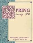 Harding University Spring Sing Program 1992