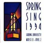 Harding University Spring Sing Program 1994