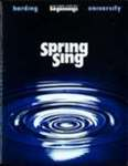 Harding University Spring Sing Program 2004