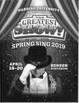 Harding University Spring Sing Program 2019