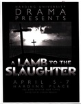 A Lamb to the Slaughter (poster)