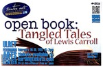 Open Book: Tangled Tales of Lewis Carroll (poster)