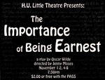The Importance of Being Earnest (1999 flyer)