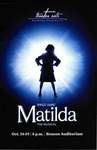 Matilda: the Musical (2019 program)